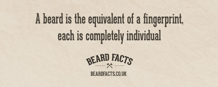 BeardFact #20 - A beard is the equivalent...
