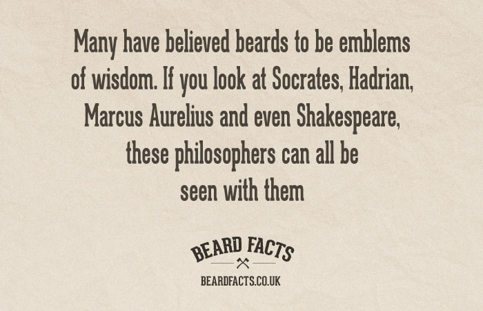 BeardFact #24 - Many have believed beards...